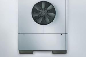"""Die Wärmepumpe """"Vitocal 300-A"""" erweitert mit Leistungen bis 50 kW das Leistungsangebot bei Luft/Wasser-Wärmepumpen für Anwendungen mit hohen Heizlasten."""