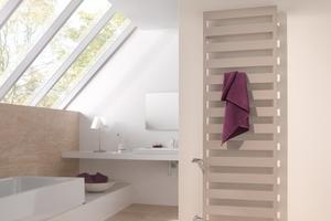 """Komfortabel bei """"Casteo-D"""" sind die zahlreichen Freiräume zum bequemen Einhängen von Handtüchern."""