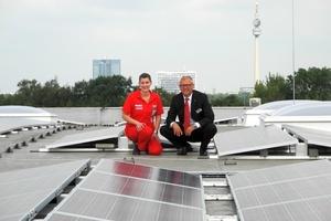 Hellweg nutzt in seinem Baumarkt in Dortmund-Hacheney eine Solarstromanlage von Conergy.  (Foto: Conergy/Hellweg)