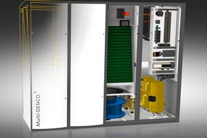 "GEA-""Denco-OfficeCool"" versorgt bis zu 300m² Fläche bzw. maximal ca. 15 Ventilatorkassetten (LECU)."