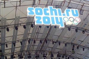 ... der offenen Siegerhalle bei jeder olympischen Ehrung die Medaillengewinner.