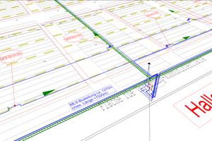 Installationsplan mit Busleitungen in DDS-CAD<br />
