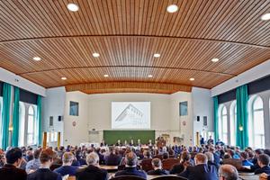 Vertreter von BTGA, FGK, RLT-Herstellerverband, BMWi und BMUB eröffneten den TGA-Kongress 2016.