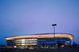 Das neue Stadion von außen<br />