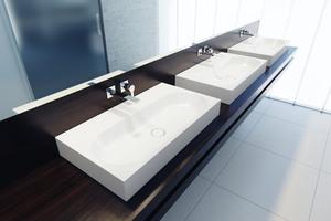 Die Kaldewei Waschtische sind in fünf Designlinien, ...