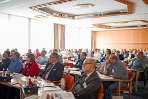 """Über 100 Teilnehmer besuchten das 13. Fachsymposium """"Gebäudetechnik und Hygiene""""."""