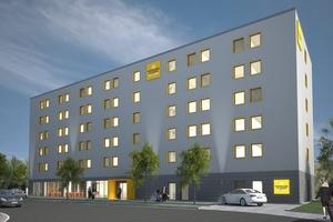 Innerhalb von zehn Monaten errichtet Goldbeck für die französische Louvre Hotels Group ein Hotel am Frankfurter Flughafen.