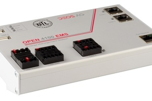 "Die BACnet-Controller ""Open 4100 EMS"", ..."