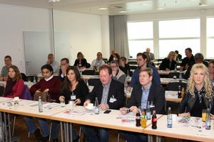 Rund 40 Teilnehmer aus der ganzen TGA-Branche zeigten großes Interesse an dem Thema Building Information Modeling.