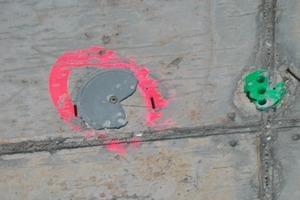 ... rund <strong>1000</strong> Thermische Steckdosen zur Installation von Deckensegeln zum Heizen und Kühlen eingebaut <br />