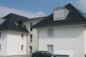 Dieses Gebäude dient als Musterhaus