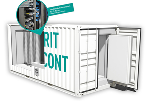 "Robust gebauter Container ""HSRZ Cont"" der Priorit AG"