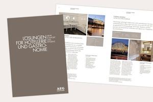 """Die Broschüre """"Lösungen für die Hotellerie und Gastronomie: Mehr Komfort und Effizienz"""" soll Investoren im Hotel- und Gastronomiegewerbe inspirieren und liefert zudem nützliche Informationen über technische Raffinessen, die Wärme bringen<br />"""
