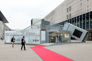 "Messe Light + Building 2016, Sonderschau ""Digitales Gebäude"""