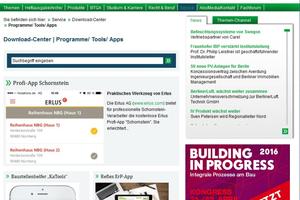 Großen Zuspruch erhält auch das Download-Center zu Programmen/Tools und Apps.