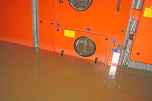 Durch das Hochwasser wurden die RLT-Anlagen ...<br />