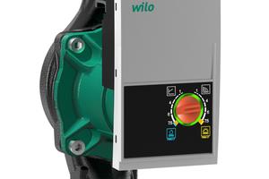 """Die """"Yonos Pico-STG"""" von Wilo wurde für den Einsatz in Geothermie- und Solaranlagen von Ein- und Zweifamilienhäusern entwickelt."""