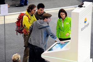 Sehr interessiert an detaillierten Informationen zu energieeffizientem Bauen, Modernisieren und Sanieren zeigten sich die Besucher auf der GETEC 2013