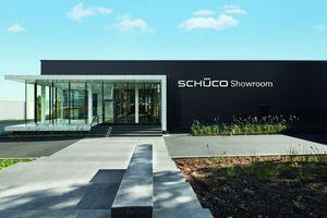 Schüco hat einen neuen Showroom am Standort Bielefeld. (Foto: Schüco International KG)
