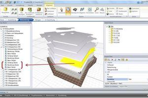"""Den Erweiterungsbau eines Hotelgebäudes modellierte der Preisträger mit der 3D-BIM-Software """"ArchiCAD"""" von Graphisoft und ...<br />"""