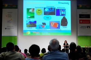 Ein sehr gut besetztes Fachvortrags-Programm zu Energieeffizienz-Themen rund um das Gebäude lockte trotzt Sonnenschein viele Besucher auf die GETEC 2013