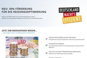 Auszug der Startseitevon www.heizungsförderung.de