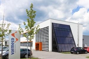"""Unternehmenssitz und """"Showroom"""" für die Techniken des Hauses: das Firmengebäude von varmeco in der Johann-Georg-Weinhart-Straße 1 in Kaufbeuren  (Foto: varmeco)"""
