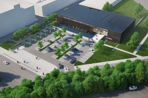 So soll das neue Schulungs- und Kommunikationszentrum von Stiebel Eltron in Holzminden nach seiner Fertigstellung aussehen.