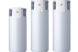 """Eine der Neuheiten auf der SHK Essen 2016 ist die Trinkwasser-Wärmepumpe """"WPT EL 300 plus"""" von AEG Haustechnik."""