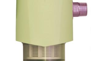Der Anlagen-Rückspülfilter ARS von KaMo ist eine Kombination aus Rückspülfilter und Druckminderer.