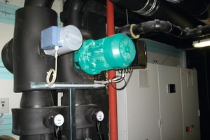 Warmwasserversorgung für den Wellnessbereich<br />