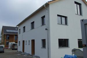 In vier neu gebauten Einfamilienhäuser in München kam ein Luftverteilsystem für die kontrollierte Wohnraumlüftung von Fränkische zum Einsatz.<br />