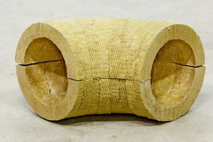"""""""ProRox SB 960"""" Rohrbögen bestehen aus verklebten Steinwolle-Segmenten, ..."""