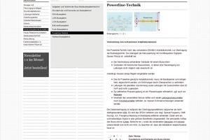 Blick auf das Kapitel Gebäudesystemtechnik/BUSvon Baunetz Wissen Elektro<br />