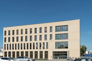 Vorzeigeprojekt: Der Neubau für die Fachhochschule Bielefeld auf dem Campus Minden gilt als Musterbeispiel für intelligentes, energieeffizientes Bauen.<br />