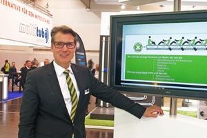 Kermi-Geschäftsführer Dr. Roger Schönborn tauschte sich mit der tab-Redaktion über den Systemgedanken in der Heiztechnik aus.