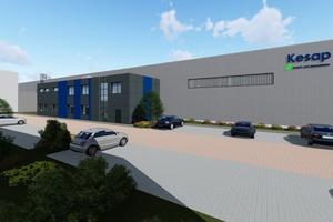 Kesap investiert 2,8 Mio. € im Schweriner Gewerbegebiet Görries in eine Erweiterung des Standorts.