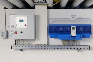 """Mit dem Regelsystem """"Logamatic 4000"""" ist die übergeordnete Ansteuerung aller Systemkomponenten möglich.<br />"""