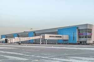 ... der Flughafen Wladiwostok Internationa.