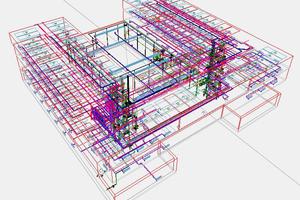 Gebäudemodell am Beispiel des Forschungszentrum für Intelligente Technische Systeme in Paderborn<br /><br />