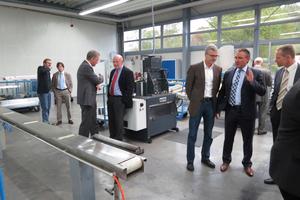 Besichtigung der Produktion von Klimazentralgeräten und Wärmeübertragern bei Howatherm