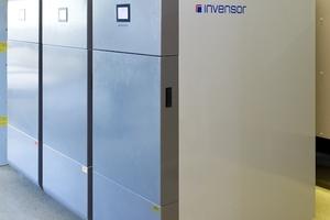 Die drei installierten Adsorptionskältemaschinen von InvenSor