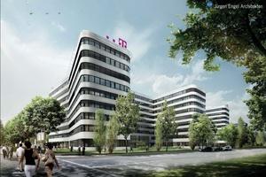 Neubau Überseering Hamburg, Entwurf: KSP Jürgen Engel Architekten für die TAS Unternehmensgruppe (Foto: TAS Unternehmensgruppe)