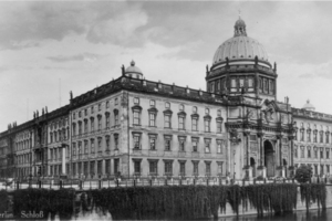 Das Berliner Stadtschloss in den 1920er Jahren