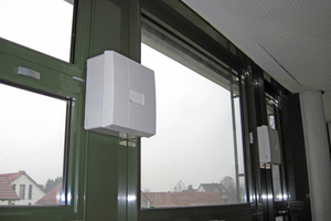 """In jedem Klassenraum sorgen vier Lüftungsgeräte vom Typ """"S-485"""", """"S-485-TFC"""" aus dem Hause Meltem rund um die Uhr für gute Luft<br />"""