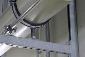 """Die Rohrschelle """"Titan HD"""" zeichnet sich durch eine massive Bauweise und hohe Tragfähigkeit aus."""