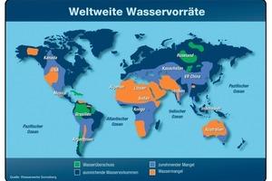 Bild 1: Zunahme des weltweiten Wasserbedarfs<br />