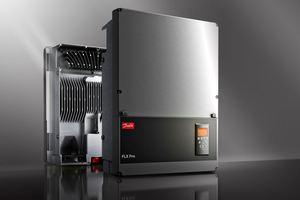 Die FLX-Wechselrichterserie von Danfoss ist in kleinen Leistungsbereichen ab 5 kW erhältlich.