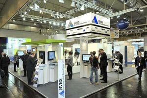 In Halle 1 wird der IT-Gemeinschaftsstand des BVBS – Bundesverband Bausoftware e.V. aufgebaut.