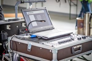 """Die Software """"Sinteso Data Recorder"""" visualisiert die Ergebnisse des Wirksamkeitsnachweises."""